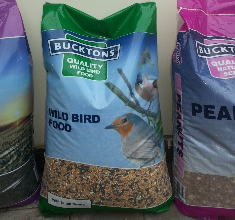Large Bags of Bird Seed