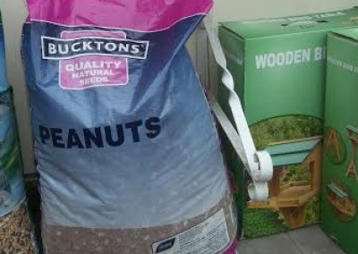 Large bags of Peanuts