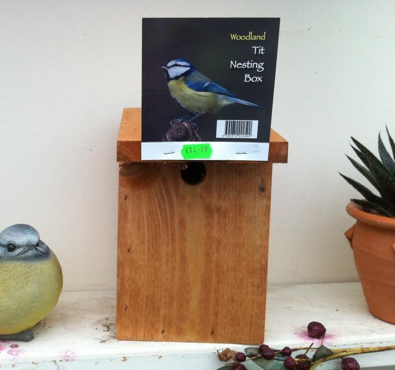 Woodland Tit Nesting Box