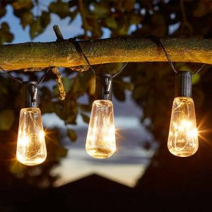 10 vintage lightbulbs