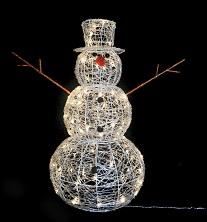 CH1095Acrylic snowman