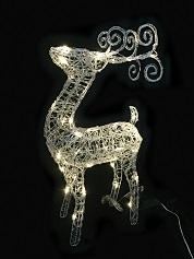 CH1096acrylic reindeer