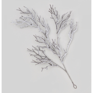 YFB35400hanging flocked twig