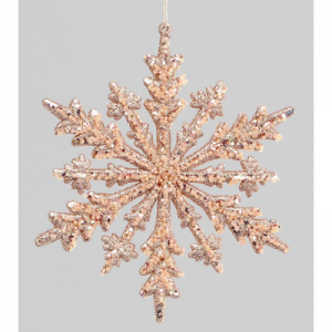 MU50455 rose gold snowflake