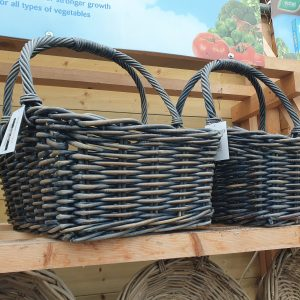 glenweave bread basket with hoops at beechmount garden centre