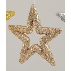 23cm star champagne ymu45524 at beechmount garden centre