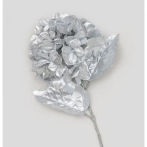 68cm glitter hydrangea silver 27090 at beechmount garden centre