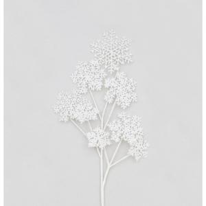 91cm snowflake spray white 46910 at beechmount garden centre