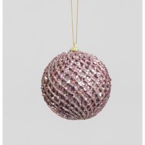 100mm glitter sequin ball rose 8355 at beechmount garden centre