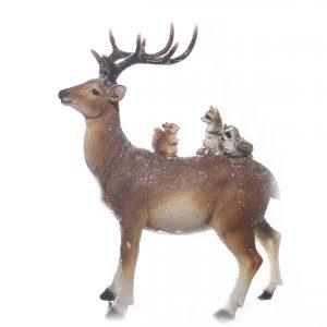 christmas reindeer squirrels at beechmount garden centre