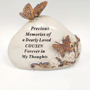 cousin grave ornament at beechmount garden centre
