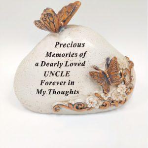 uncle grave ornament at beechmount garden centre