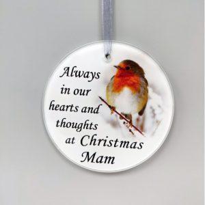 grave ornament Mam at beechmount garden centre
