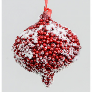 180mm frost hanging berry drop red 86601 at beechmount garden centre