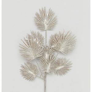 64cm glitter fern spray chmp 64924 at beechmount garden centre