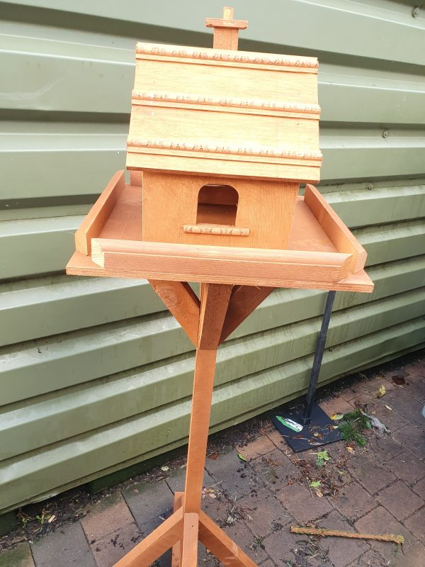 bird table at beechmount garden centre