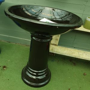 bird bath at beechmount garden centre