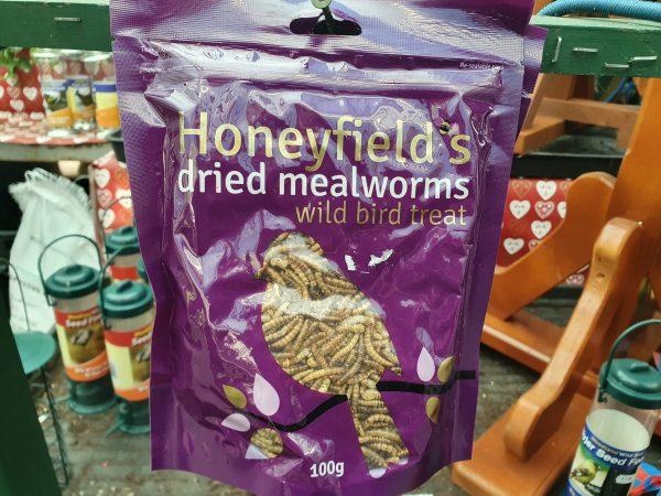 mealworms at beechmount garden centre