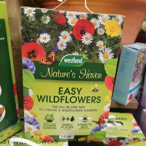 natures haven wildflower seed at beechmount garden centre