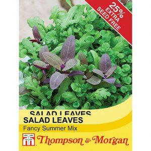 Salad Leaves 'Fancy Summer Mix' at beechmount garden centre