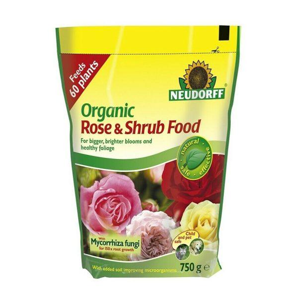neudorff rose & shrub food 1.25kg at beechmount garden centre
