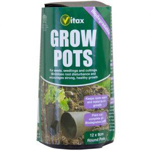 vitax grow pots at beechmount garden centre