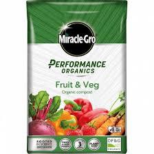 Miracle-Gro® Performance Organics Fruit & Veg Granular Plant Food at beechmount garden centre