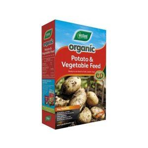 ORGANIC POTATO + VEG FOOD 1.5KG at beechmount garden centre