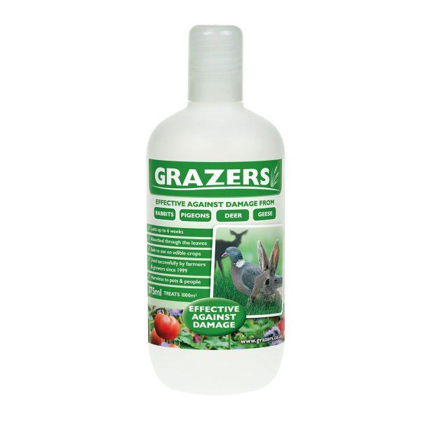grazers rabbit pigeon deer repellant at beechmount garden centre