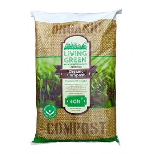 living green organic compost at beechmount garden centre