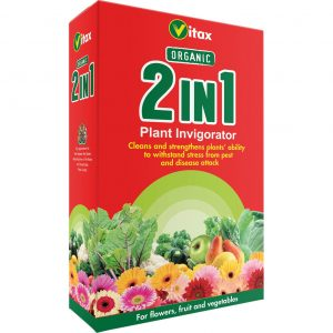 vitax organic 2in1 invigorator at beechmount garden centre