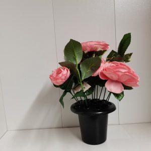 grave artificial flowers at beechmount garden centre