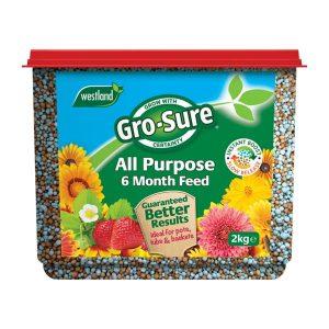gro sure all purpose food 2kg tub at beechmount garden centre