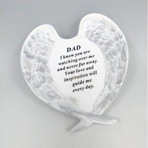 angel wings dad at beechmount garden centre