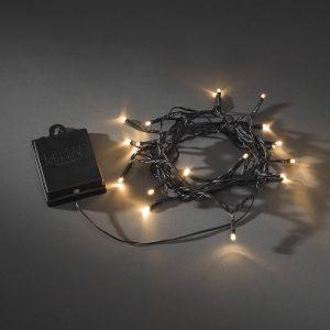 40 LED light set black at beechmount garden centre