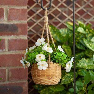 basket bouquets blossom at beechmount garden centre
