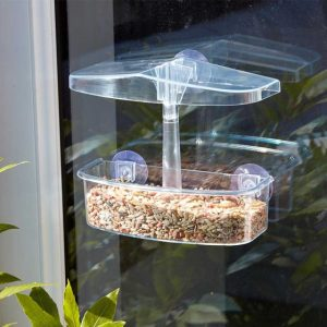 windowatch bird feeder at beechmount garden centre