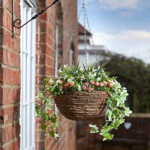 blush easy basket at beechmount garden centre