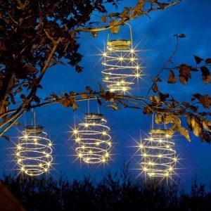 spiral lights at beechmount garden centre